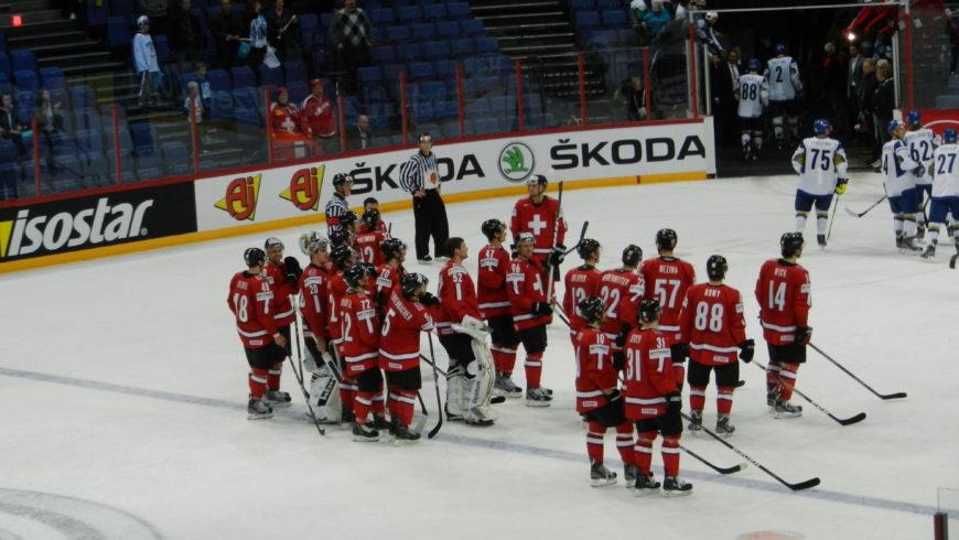 Teamzusammenhalt als Erfolgsfaktor in der Schweizer Eishockey Nationalmannschaft!